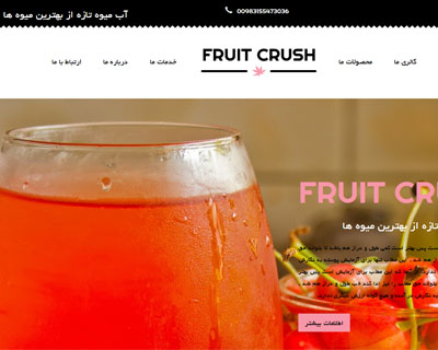 قالب fruit_crush