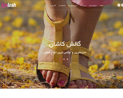 قالب galesh_shoes